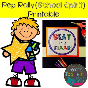 FREEBIE Pep Rally School Spirit Printable Headband