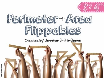 FREEBIE Perimeter and Area Flippables