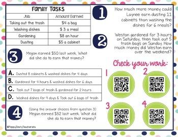 FREEBIE! Personal Financial Literacy [Task Cards]