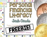 FREEBIE! Personal Financial Literacy [Task Cards]
