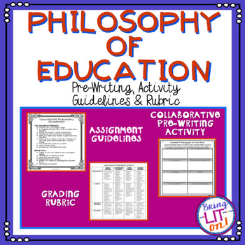 FREEBIE! Philosophy of Education