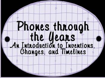 FREEBIE - Phones through the Ages