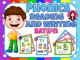 Phonics | reading and handwriting for centers | satipn