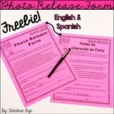 FREEBIE!!! Photo Release Form: English and Spanish
