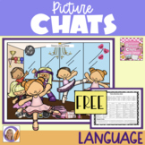 FREEBIE! Picture Chat: Dance, Dance! - Vocabulary, 'wh' questions and discussion