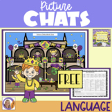 FREEBIE! Picture Chat: Mardi Gras - Vocabulary, 'wh' questions and discussion