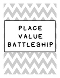 FREEBIE Place Value Battleship