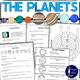 FREEBIE - Planets Worksheets Distance Learning