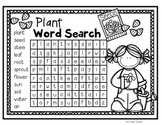 FREEBIE--Plant Word Search for K-2