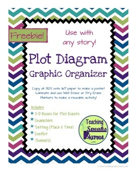 Freebie Plot Diagram Graphic Organizer By Teaching Speaks Volumes