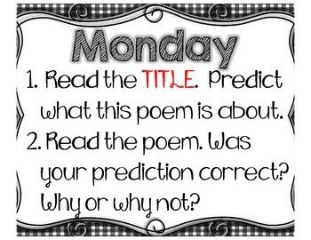 FREEBIE- Poem of the Week