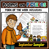FREEBIE! Poems and Pictures-September SAMPLER