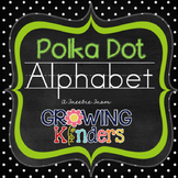 FREEBIE! Polka Dot Alphabet Line