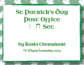 {FREEBIE} Post Office - St Patrick's Day Theme Quarter and