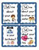 FREEBIE: Pre-K, Kindergarten, SDC, ASD Conversation Starters for Social Skills