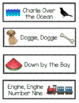 FREEBIE Pre-K and Kinder Printable Song Title Cards, Kodaly Folk Songs and Games