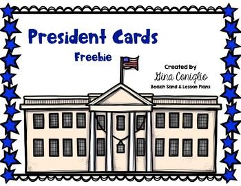 FREEBIE President Cards