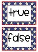 FREEBIE: President's Day Math Activity (True or False Math