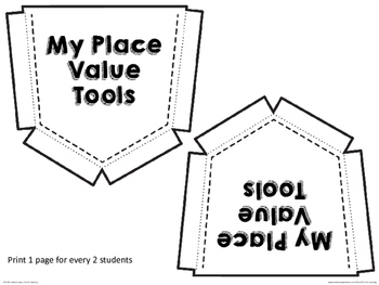 Printable Place Value Tools