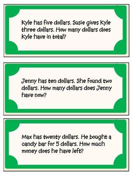 FREEBIE - Printable Money with flashcard questions