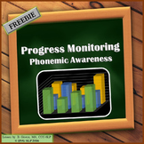 FREEBIE Progress Monitoring Phonemic Awareness Chart