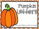 FREEBIE! Pumpkin Letters
