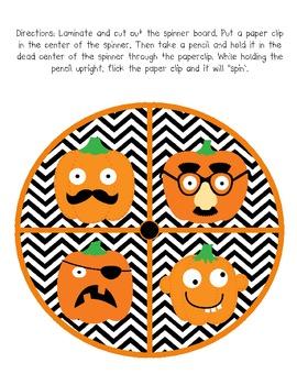 *FREEBIE* Pumpkin Patch Math & Literacy Center Packet!!!