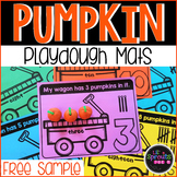 FREEBIE Pumpkin Playdough Counting Mats FREE SAMPLE