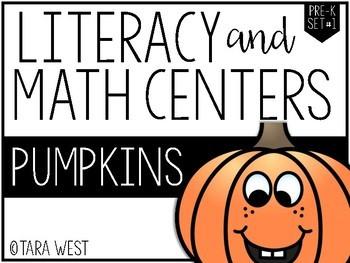FREEBIE Pumpkin Positional Words: Pre-K and Kinder Pumpkins Themed Centers