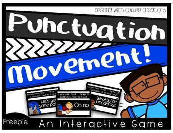 FREEBIE! Punctuation Movement - Interactive Game