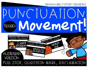 FREEBIE - Punctuation Movement Interactive Game