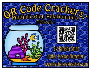 FREEBIE: QR Code Crackers: Multiplication Relationships