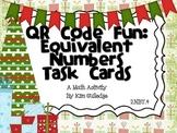 FREEBIE! QR Code Fun: Comparing Numbers Task Cards 2.NBT.4