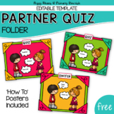 Partner Quiz Trade {Editable}