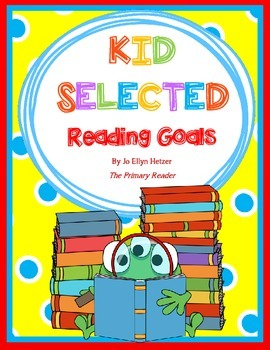 FREEBIE! ~ READING GOAL SHEETS FOR KIDS