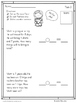 FREEBIE: Rainbow Word Problem Assessments