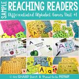FREEBIE: Reaching Readers Alphabet Games Unit 1
