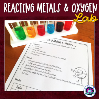FREEBIE: Reacting metals & air