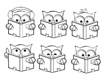 FREEBIE Reading Clipart