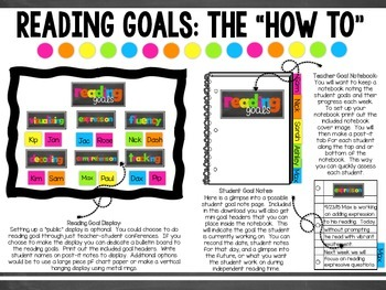 FREEBIE Reading Goals!