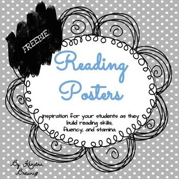 FREEBIE Reading Posters