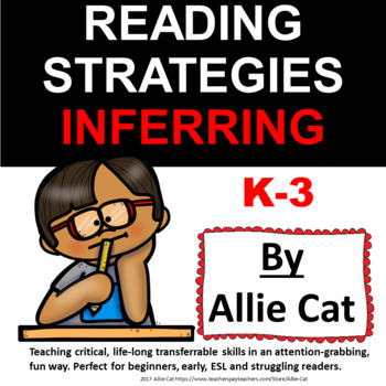 FREEBIE Reading Strategies K-3 INFERRING to build reading comprehension