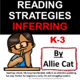 FREEBIE Reading Strategies K-3 INFERRING to build reading