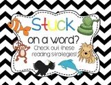 {FREEBIE} Reading Strategy Animal Posters- Chevron Themed