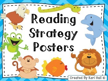 FREEBIE! Reading Strategy Posters (Decoding Posters) and Bookmarks!