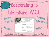 FREEBIE Reading Strategy Responding to Literature RACE posters anchor charts