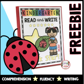 FREEBIE Reading and Writing in Kindergarten - Literacy Center - Worksheets - ELA