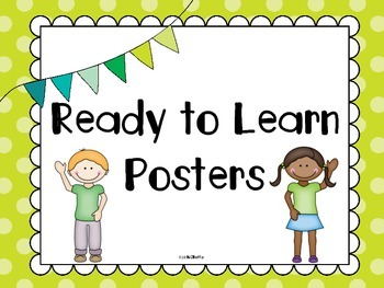 Ready to Learn Posters