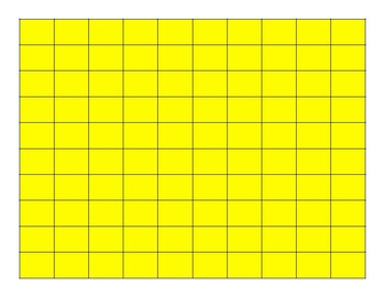 FREEBIE - Red & Yellow Math Counters