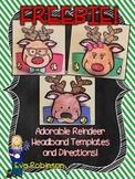 FREEBIE-- Reindeer Headband Templates!